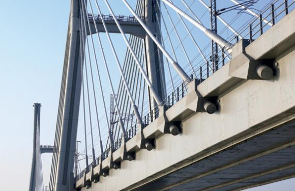 01. Cable Stayed bridge over the River Po, Piacenza (Italy)